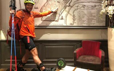 Tournée Skike France – 9 septembre 2019, visite à St-Malo