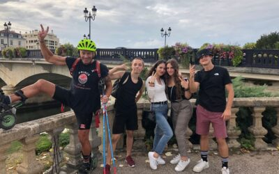 Tournée Skike France – 21 septembre 2019, visite à Saintes