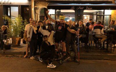 Tournée Skike France – 27 septembre 2019, visite à Toulouse